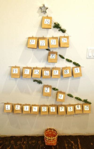 diy paper bag advent calendar allfreekidscraftscom