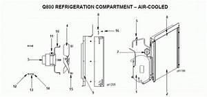 Manitowoc Qy0804a Ice Machine Parts Diagram