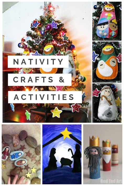 nativity craft ideas activities your preschoolers will 783 | Nativity Crafts for Preschoolers
