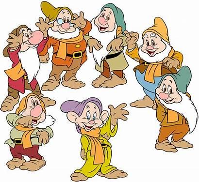 Dwarfs Seven Disney Clipart Clip Snow Galore