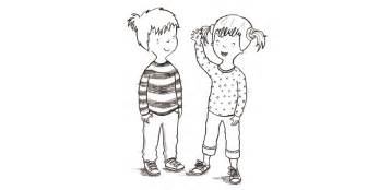 Topsy And Tim Colouring Pages Sketch Coloring Page