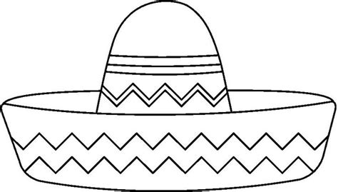 sombrero coloring coloring pages mexican party theme coloring pages mexican art