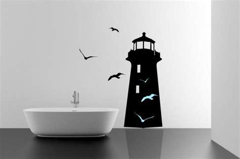 amazing lighthouse  seagulls bedroom wall sticker