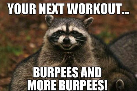 Burpees Meme - 17 best images about burpee workouts to do yay on pinterest burpee exercise raspberry