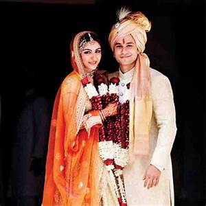 Soha Ali Khan Wedding Photos, Pictures with Husband Kunal Khemu Dress