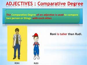 Degrees Of Adjectives Chart Degrees Of Comparisson Of Adjective