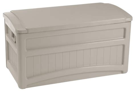 suncast db7000w outdoor accessories storage box deck
