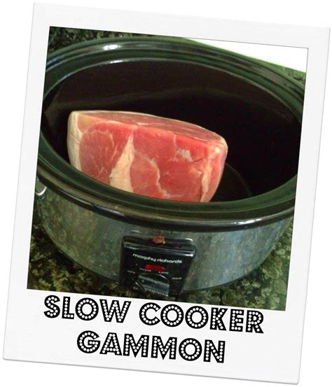 gammon slow cooker joint cooking mummymishaps mummy mishaps cook cooked ham roast meals