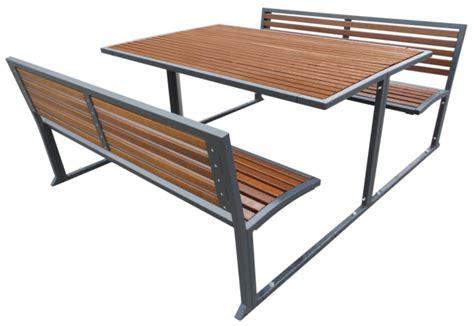 bank tisch kombination bank tisch sets kaufen ziegler metall