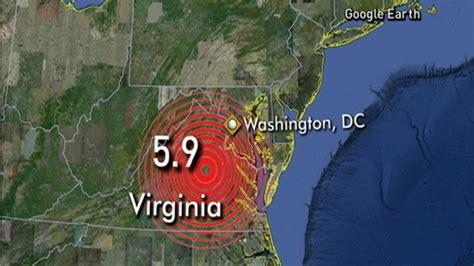 earthquake strikes virginia dangerous  fault lines
