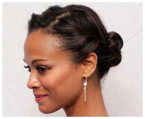 cute updos for short hair african american hair
