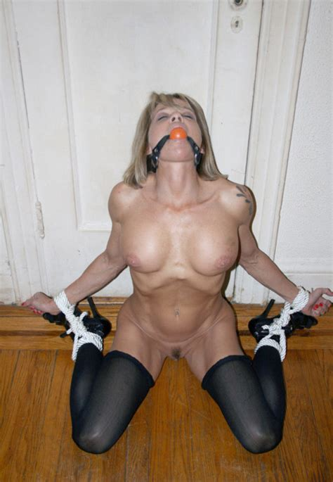 milf bondage gagged mature sex