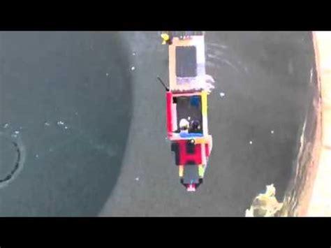 lego ship sinking in pool lego ship sinking