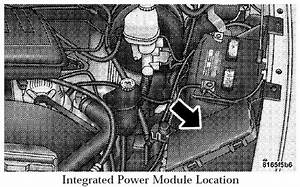 2008 Dodge Ram Fuse Box Diagram Under Hood  Location