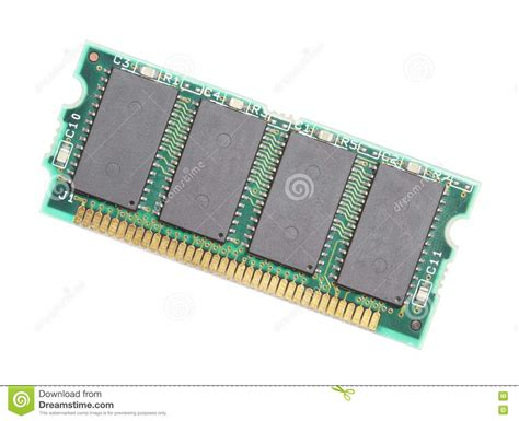 Laptop Memory Card Royalty Free Stock Photography