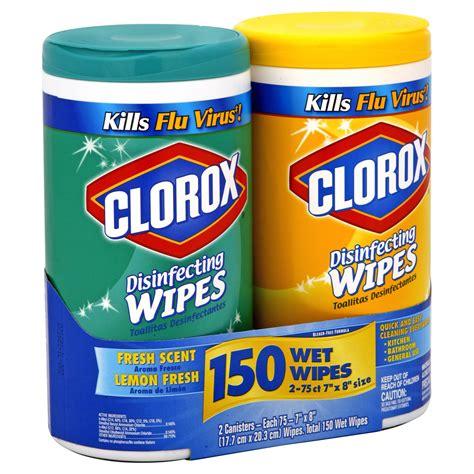 Clorox Disinfecting Wipes, Fresh Scent & Lemon Fresh 2
