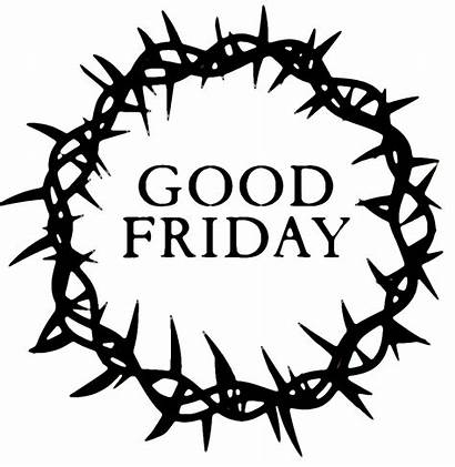 Friday Crown Cross Christian Coloring Sketch Transparent