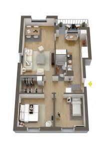 2 Bedroom Floor Plan Layout by 40 More 2 Bedroom Home Floor Plans
