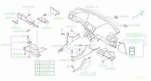 Subaru Legacy 2 5l Turbo 5mt 4wd Gt Wagon Clip  Panel