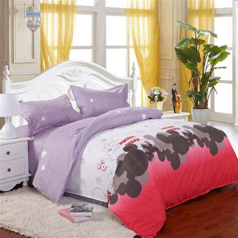 on sale bedding set 4 3pcs family cotton bedding set bed