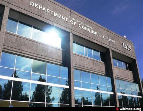 bureau of consumer affairs california department of consumer affairs headquarters