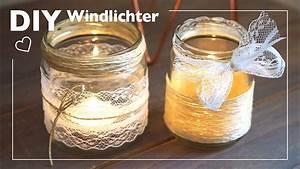 Windlichter Basteln Einmachgläser : diy windlichter mit jute und spitze basteln youtube ~ A.2002-acura-tl-radio.info Haus und Dekorationen