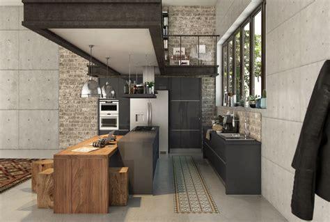 cuisines industrielles une cuisine industrielle un must dans tous les intérieurs
