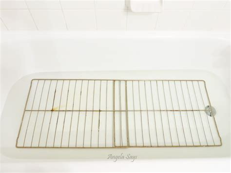 how to clean oven racks easily the easy way to clean oven racks angela saysangela says
