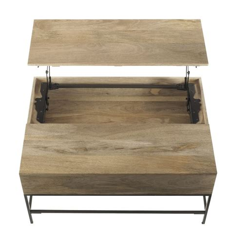 table and storage coffee table storage coffee table industrial storage