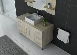 Meuble Simple Vasque : ensemble de salle de bain simple vasque sur pieds ref turin sc ~ Teatrodelosmanantiales.com Idées de Décoration