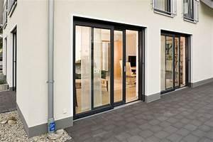 Fenster Innen Weiß Außen Anthrazit : schiebet r au en grau aber wei er rahmen beim ffnen ~ Michelbontemps.com Haus und Dekorationen