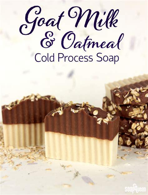 goat milk oatmeal cold process soap tutorial soap queen