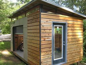 DIY Modern Shed project Modern, Backyard and Gardens