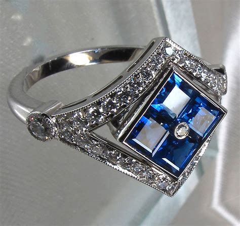 antique sapphire engagement rings for those who history