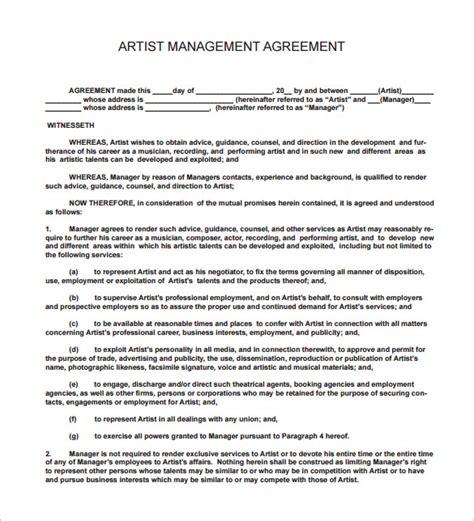 14+ Music Contract Templates  Word, Pdf  Free & Premium
