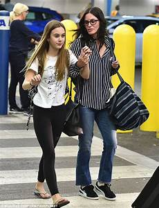 Courteney Cox and Coco Arquette touch down in Miami ...