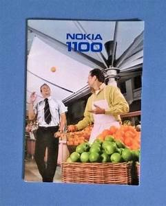 Nokia 1100 Users Guide