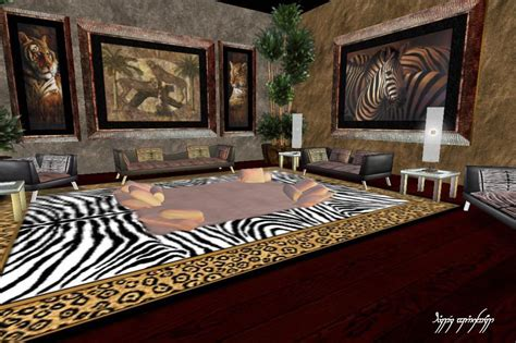 African Safari Inspired Home Decor