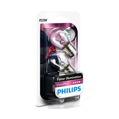 philips vision plus p21 5w car brake light bulbs