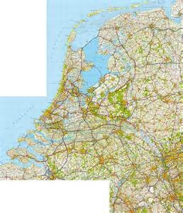 Netherlands Topographic Map