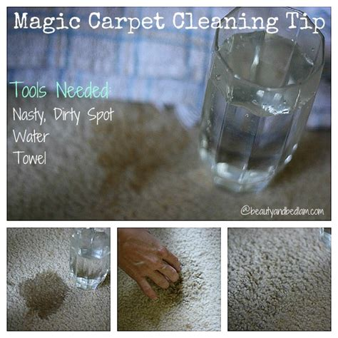 Best Ever Magic Carpet Cleaning Tip  Balancing Beauty And