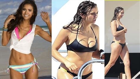 Nina Dobrev is HUNGRY! + her Weight gain explained - YouTube