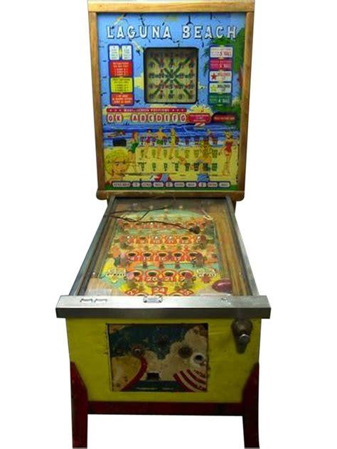 fun 1960 bally laguna beach bingo pinball machine