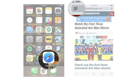 view on iphone how to use reader view in safari on iphone and imore