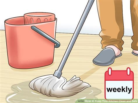 How to Keep Your Kitchen Clean and Safe (with Pictures