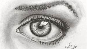 How to Draw a Realistic Eye - Drawing Time Lapse - YouTube