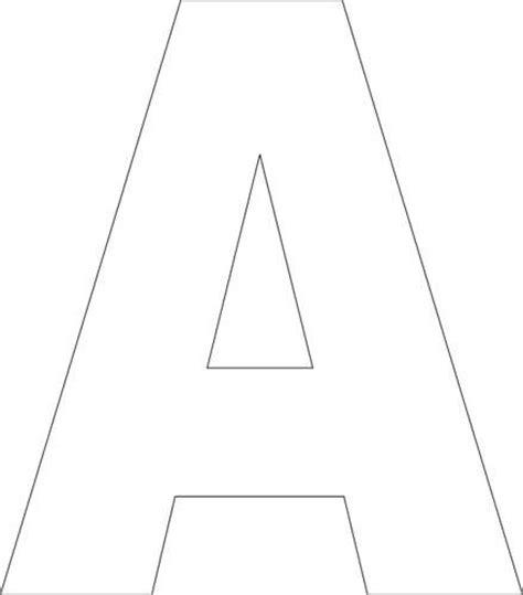 printable  template alphabet templates printable