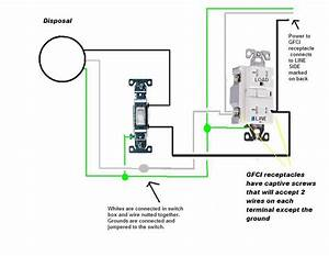 Diagram  Double Wall Switch With Gfci Wiring Diagram Full