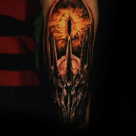 eye  sauron tattoo designs  men lord