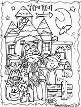 Coloring Troll Hunter Halloween Getdrawings sketch template